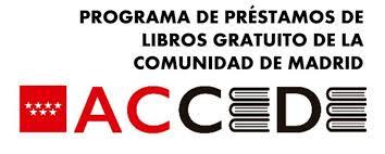 Programa ACCEDE de la Comunidad de Madrid: Préstamo de libros 2020-2021
